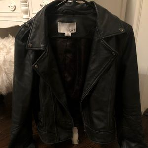 Bar III Geniune Leather Jacket